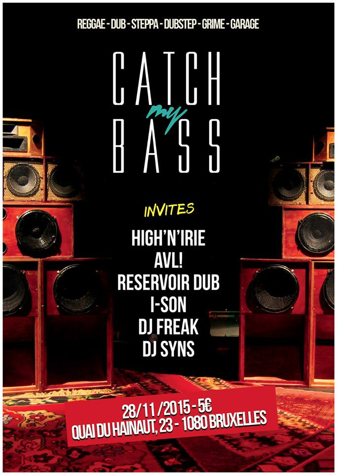Reservoir Dub » Blog Archive » Reservoir Dub @ Catch my bass